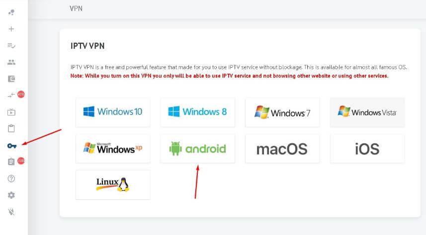 IPTV with Free VPN