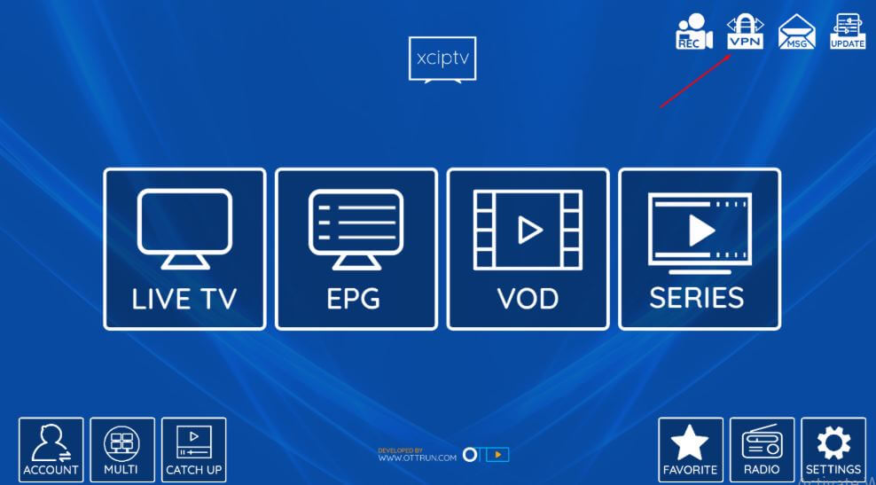 XCIPTV App